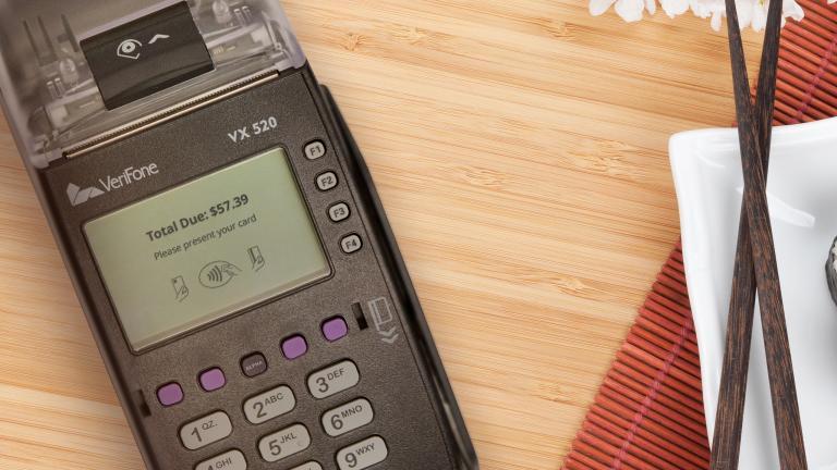 w//warranty credit card terminal Used Verifone VX540 or VX510 power
