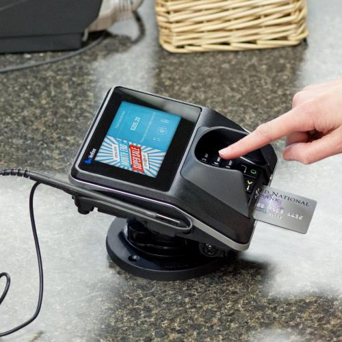 Verifone's MX915 runs on the Verifone validated P2PE solution is designed to meet the needs of merchants of all sizes and offers multiple configurations and processing options.