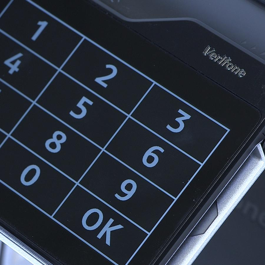 Verifone Navigator on a Carbon 10